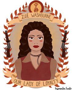 Zoë  Washburne Our Lady of Loyalty