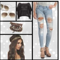 Fashion, outfit, cute,    Instagram @Clauds_Love
