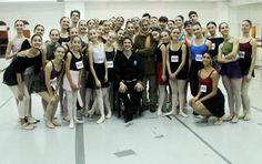 Master Class Fundación Julio Bocca - Escuela de Teatro musical - Estudio de Danza Clásica