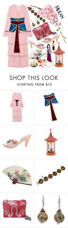 """""""Mulan"""" by chey-love ❤ liked on Polyvore featuring Alice McCall, Chanel, Gucci and L'Oréal Paris"""