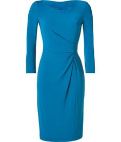 BY Philosophy di Alberta Ferrettis  SEE DETAILS HERE: Lagoon Blue Draped Jersey Dress