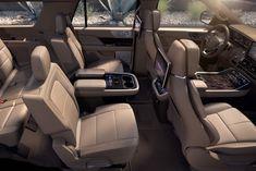 2018 Lincoln Navigator's luxury cabin