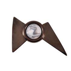 Huge Big Brooch, Modern Bow Brooch, Bow Pin, Modern Fashion Jewelry