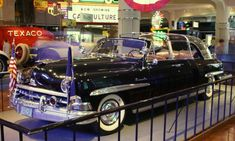 eisenhower limousine | President Limousine and was used by President Dwight D. Eisenhower ...