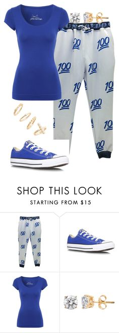 """Untitled #41"" by mira-alsina ❤ liked on Polyvore featuring Converse, Jane Norman and BP."