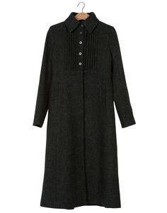 Long coat in Harris Tweed from nygårdsanna.