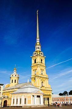 Catedral de São Pedro e São Paulo. #São Petersburgo, Rússia.