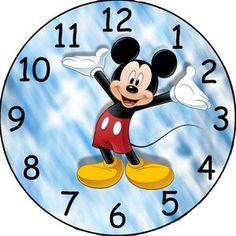 this listing is for a image to be emailed to you. i created the clock face using photo editing software. make a custom clock for a favorite grandkid or child. any questions please ask.