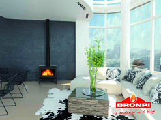 Estufa de leña Bronpi Sena |  Bronpi wood stove Sena | Poêle à bois Bronpi Sena | Stufe a legna Bronpi Sena | Salamandra de Lenha Bronpi Sena | Σόμπες ξύλου Bronpi Sena Stove, Accent Chairs, Wood, Furniture, Home Decor, Firewood, Wood Stoves, Upholstered Chairs, Decoration Home