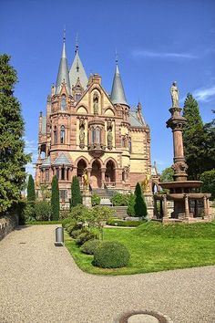 Travel Inspiration for Germany - Dragon Castle, Schloss Drachenburg ~ Königswinter, Germany