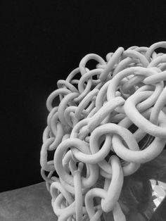kettingen uit witte klei 1100°C