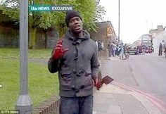 Muslim Men Murder Soldier in Busy London Street