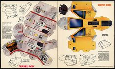 Mars - Star Trek Action Fleet Mail-Away - Work Bee - 1980 by JasonLiebig, via Flickr