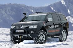 Three special off-road sets for Mitsubishi Pajero Sport! Pajero Dakar, Montero Sport, Mitsubishi Pajero Sport, Vans, Offroad, Touring, Super Cars, Trucks, Vehicles