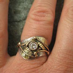 Wedding Ring Mixed Metals