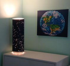 Shadow Star Constellations Shade & Table Lamp by EventsHandmade