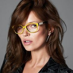 187e6d6907af Eyeglass Styles for 2014 | Kate Moss For Versace Eyewear Fall-Winter 2013- 2014 | She Look Book