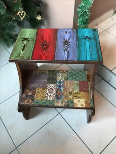 37 Best Ideas for art deco diy furniture paint Decoupage Furniture, Funky Furniture, Recycled Furniture, Paint Furniture, Furniture Making, Furniture Makeover, Wood Pallets, Wood Crafts, Wood Projects