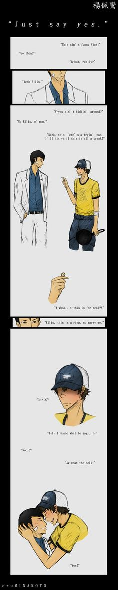 __L4D2: Just say yes.__ by xCheckmate on DeviantArt