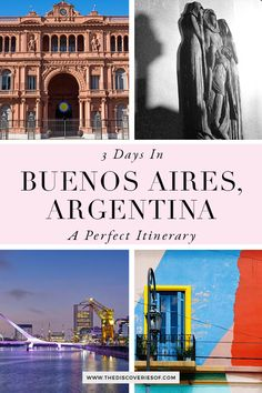 The Buenos Aires City Guide. Cool things to do in Buenos, Aires, Argentina. Explore colourful La Boca, find the best food and enjoy the city's hectic nightlife in this 3 day Buenos Aires guide. #travel #traveltips #southamerica #argentina Stuff To Do, Things To Do, Argentina Travel, Nightlife, Patagonia, South America, Places To See, Travel Tips, Explore