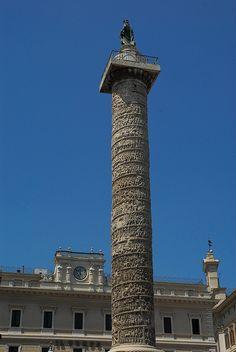Marco Aurelio Column, Rome