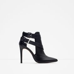 ZARA - WOMAN - HIGH HEEL ANKLE BOOT STYLE SHOES