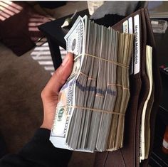 Find images and videos about luxury, money and dollar on We Heart It - the app to get lost in what you love. Mo Money, How To Get Money, Make Money Online, Cash Money, Money On My Mind, Money Today, Dollar Money, Money Stacks, Money Affirmations