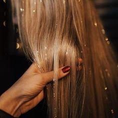 Christmas Tinsel extension de cheveux clip accessoire de cheveux ~ ~ robe fantaisie