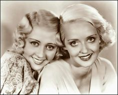 Move over, Jean Harlow - Warner Bros had its blond bombshells too. Blonde bombshells: Joan Blondell and Bette Davis