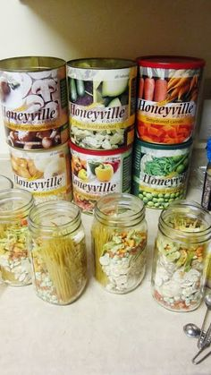 Chef Tess Bakeresse:  52 meals in a jar method