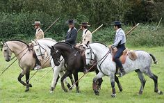 The Portuguese Working Equitation Team by francesca nunn
