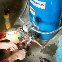 If you own a home with a well, you know that trouble can hit at the worst possible time, like at the start of a holiday weekend, and off-hours repairs can cost a small fortune. Well Pump Replacement, Well Pump Repair, Well Pressure Tank, Well Pump Pressure Switch, Submersible Well Pump, Plumbing Emergency, Pump House, Plumbing Problems, Home Fix