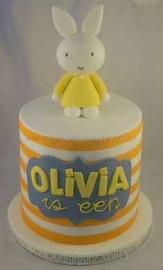 Miffy for Olivia by ♥Dot Klerck....♥, via Flickr
