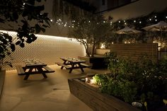 Soak up the sun amid the aroma of fruit and vegetables at Athens eatery... http://www.we-heart.com/2014/12/01/48-urban-garden-athens-greece/