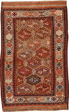 Belouch rug Northeast Persia circa 1900 size approximately 3ft. x 4ft. 9in.