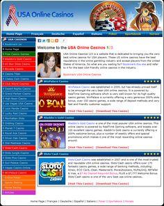 Online casinos for USA players >> USA Online Casinos --> www.usaonlinecasinos123.com