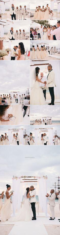 Hard Rock Hotel | Huracan Cafe Punta Cana Wedding // Chanel + Juan  Katie May Charleston Wedding dress