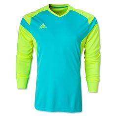 185c5378052 PRECIO 14 BLUE/NEON SOCCER GOALKEEPER JERSEY Goalie Gear, Soccer Goalie,  Softball Jerseys