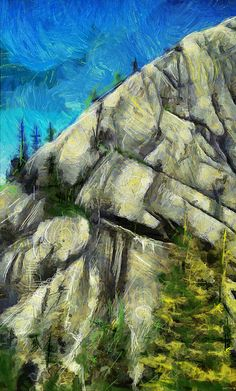Beauty Is Where You Are by Scott Smith Scott Smith, Staging, Mount Rushmore, My Arts, Mountains, Nature, Painting, Travel, Beauty