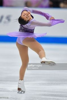 Mao Asada of Japan competes in the Ladies Singles Free Skating during the Japan Open 2015 Figure Skating at Saitama Super Arena on October 2015 in Saitama, Japan. Ice Skating, Figure Skating, Saitama Super Arena, Saitama Japan, Sport Gymnastics, Two Faces, Sports Women, Lady, Skate