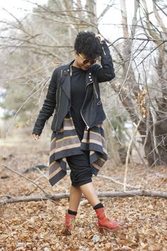 She's Faintly Masculine Afro Punk Fashion, Tomboy Fashion, Modest Fashion, Girl Fashion, Womens Fashion, Tomboy Style, Fall Winter Outfits, Autumn Winter Fashion, Winter Style