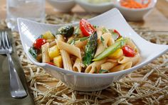 Penne with Spring Vegetables | Recipe
