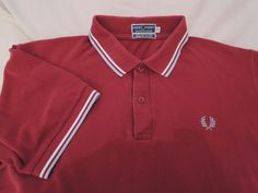 VINTAGE FRED PERRY Polo Shirt / MADE IN ENGLAND / ska mods