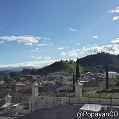 #Clima #PopayánCO min: 15ºC max: 26ºC Mañana: Cielo Parcialmente Nublado Tarde: Lluvias en Diferentes Sectores Noche: Cielo Parcialmente Nublado