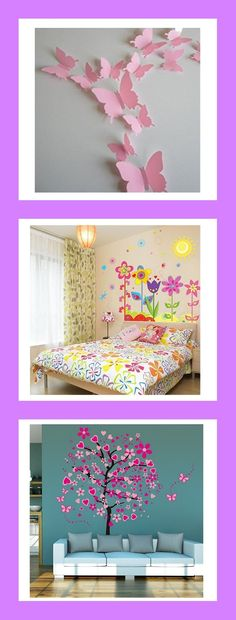 Beautiful for a little girls room #kidsroom