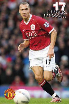 Henrik Larsson, Manchester United