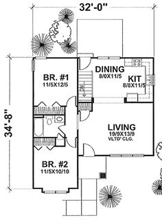 ... Small Houses Plan Ideas For Little Family: House Plans Small Homes