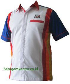 Melayani pemesanan pakaian seragam kerja c9cee285ca