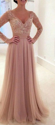 Prom Dresses,Evening Dress,Party Dresses,Blush Pink Prom Dresses,A-Line Prom