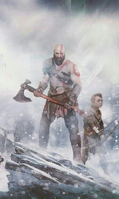 《God of War / Kratos and Atreus》